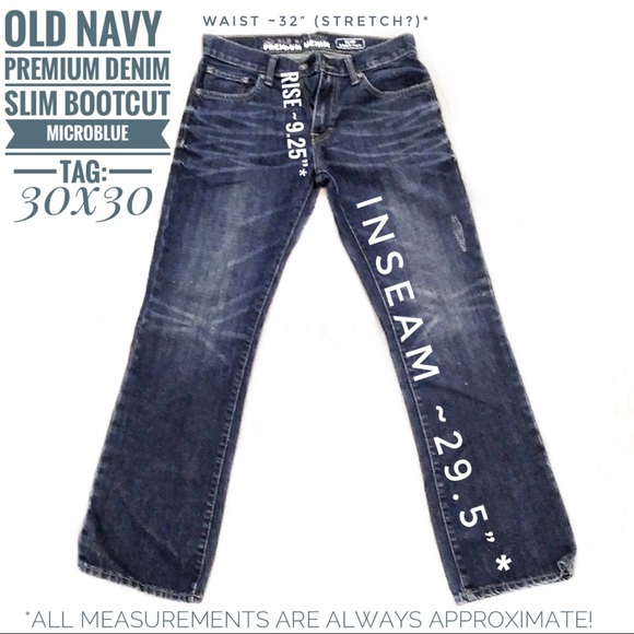 Old Navy Denim - ❇️Old Navy Micro blue Slim Boot Cut